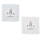 奇哥 圓點比得兔印花方巾(二色可挑)(PAL4600B藍/PAL4600P粉) 60元