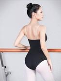 吊帶芭蕾舞蹈練功服基訓舞蹈體操服芭蕾形體服空中瑜伽服連體服女