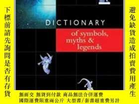 二手書博民逛書店Dictionary罕見of Symbols, Myths &