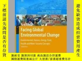二手書博民逛書店Facing罕見Global Environmental ChangeY405706 R. K. Pachau