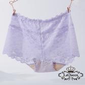 LaQueen 優雅柔軟親膚100%蠶絲褲(1803 淺紫)