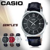 CASIO 卡西歐 手錶專賣店 BESIDE BEM-151L-1A 男錶 真皮錶帶 防水