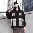 FINDSENSE品牌2018 新款 韓國  長袖  潮流上衣 街頭 撞色 大口