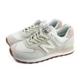 NEW BALANCE 574系列 運動鞋 復古鞋 米白色 女鞋 窄楦 WL574SAY-B no790