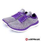 一體成型針織鞋身+襪套式鞋口,鞋面透氣孔設計,運動慢跑舒適透氣不悶熱。