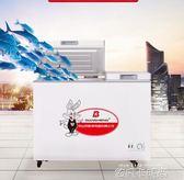 急凍冰櫃家用小型節能全冷凍保鮮櫃冷藏雙門溫用商用立臥式大容量 220V QM 依凡卡時尚