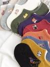 夏日襪子女船襪純棉低幫矽膠防滑可愛日系短襪【繁星小鎮】