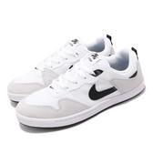 Nike 滑板鞋 SB Alleyoop 白 黑 男鞋 休閒鞋 運動鞋 【PUMP306】 CJ0882-100