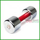 台灣製7KG電鍍啞鈴(7公斤約15.5磅/適合平時已有在鍛練身材,最多男生練舉的重量)