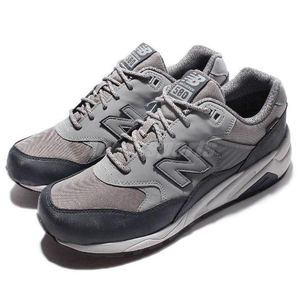 【五折特賣】New Balance 復古慢跑鞋 NB 580 灰 藍 Gore-Tex 防水材質 休閒鞋 男鞋【PUMP306】 MRT580XFD
