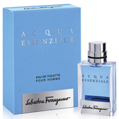 Salvatore Ferragamo 蔚藍之水男性淡香水 5ml【七三七香水精品坊】