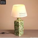 INPHIC- 田園花鳥陶瓷檯燈新古典歐式優雅臥室床頭燈結婚房客廳檯燈-A款_S197C