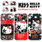 iae創百市集:iPhone5 iPhone5s iPhone5c KISS HELLO KITTY 手機保護套 SANRIO正版