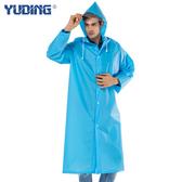 雨衣成人背包大碼長款戶外徒步旅游男女透明帽檐雨披外套【全館免運快速出貨】