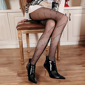 性感絲襪 摩登酷女孩 字母連褲襪-玩伴網【滿額免運】