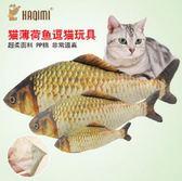 [寵飛天商城] 寵物玩具 狗貓玩具   逗貓玩具 貓薄荷魚 (中)