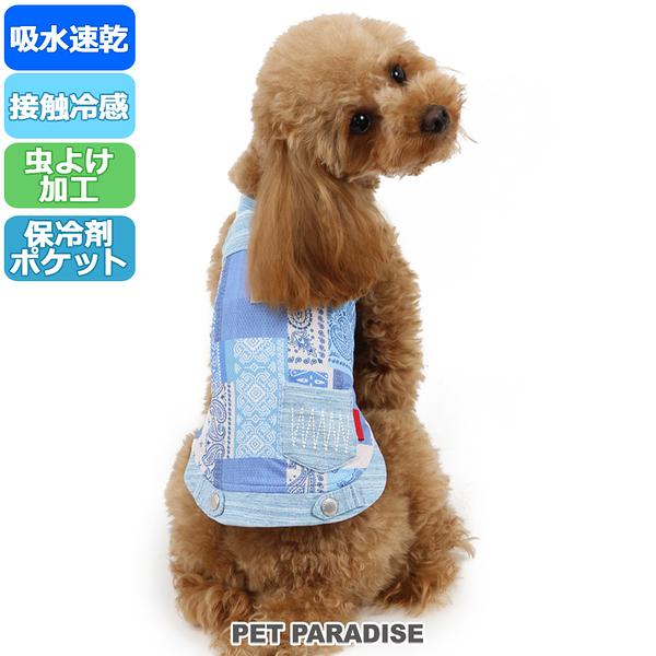 【PET PARADISE 寵物精品】PP 圖騰涼感背心/附有保冷劑 (3S/DSS/S) 寵物衣服