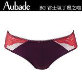 Aubade-君士坦丁堡之吻S-L中腰大版丁褲(棗紅)BG