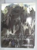 【書寶二手書T5/收藏_PLL】Christie s_Asian 20th Century…Art_2012/11/24