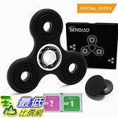 [106美國直購] SENQIAO Tri Fidget Spinner Hand EDC Finger Spinner Toy Stress Reducer