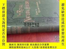 二手書博民逛書店【罕見】1894年 The Royal Natural History《皇家自然史》第一冊 哺乳動物篇 Mamma