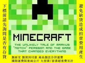 二手書博民逛書店Minecraft:罕見The Unlikely Tale of
