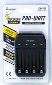 USB智慧型鎳氫電池充電器 ZN423E