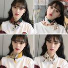 小方巾絲巾韓國領圍巾chic發帶裝飾文藝復古韓版
