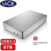 Lacie 3.5吋 Porsche Design 6TB 外接式硬碟 STFE6000401