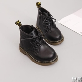兒童雪地靴 冬季馬丁靴女童靴子寶寶皮靴男童短靴棉鞋棉靴防水【快速出貨】