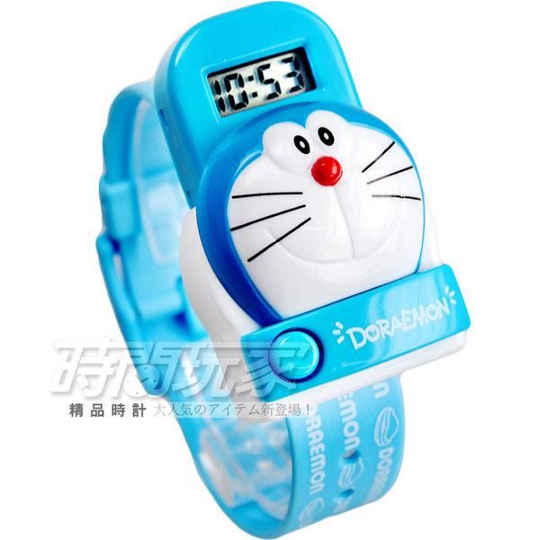 DORAEMON 哆啦A夢按鈕彈跳設計腕錶 童錶 AI-930立體 多拉a夢 防水手錶 禮物 交換禮物 兒童手錶