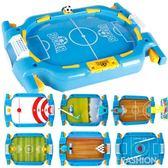 室內桌上游戲機桌式足球臺運動互動足球親子彈射玩具兒童益智對戰-Ifashion