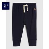 Gap嬰兒 布萊納系列 刺繡休閒褲 496557-海軍藍色