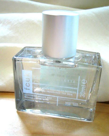 *禎的家* 英國雅痞 Fcuk 男士香水 限量小瓶裝1972(經典款) 30ml