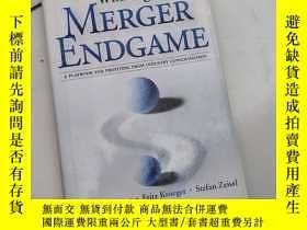 二手書博民逛書店winning罕見the merger endgame: a playbook for profiting fro