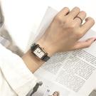 流行女錶 手錶女學生韓版簡約潮流ulzzang小清新復古森女系方形小巧 店慶降價