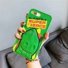 【SZ34】iphone xr 手機殼 綠底恐龍 i7 8 plus 保護殼 iphone 6s xs max 手機殼 iphone 11Promax 手機殼