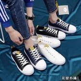 帆布鞋.男鞋子潮鞋帆布鞋韓版小白鞋透氣老北京布鞋男潮流青年