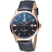 依波路 E.BOREL 復古系列經典致意時尚腕錶  GGR8580-511BK