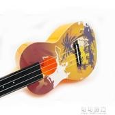 彩色卡通24寸烏克麗麗烏克麗麗四弦AUP-24-2YJT 流行花園