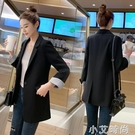 chic西裝外套女秋季2020新款韓版一粒扣休閒網紅修身小西服上衣潮 小艾新品