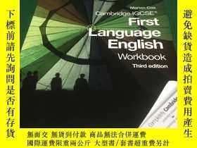 二手書博民逛書店Cambridge罕見IGCSE First Language