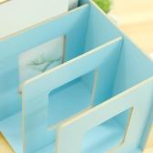 8 折免運環保木質桌上辦公室桌面檔架 木質多層資料架書本置物架