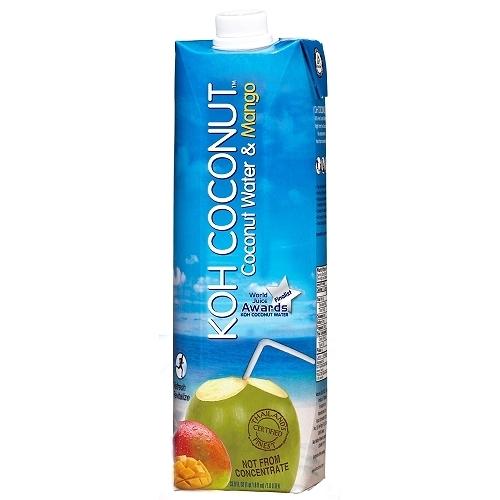 KOH COCONUT酷椰嶼 椰子芒果汁  1L【愛買】