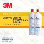 3M DWS6000-ST淨水器 DWS6000-C-CN+P165-BN雙道替換濾芯組|極淨水