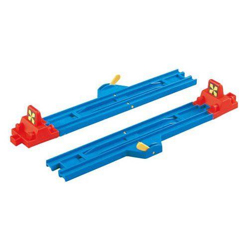 PLARAIL鐵路王國系列 火車配件 R-8 停車轉轍器_TP11000