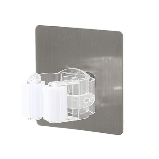 無痕多功能拖把掛架(單夾款) 透明吸盤 拖把架 掃把架 浴室夾 免打孔 廚房收納【P615】MY COLOR