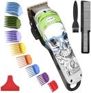 COSYONALL【日本代購】電動理髮器低噪音USB充電 交流式 - 綠色