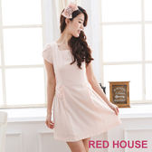【RED HOUSE-蕾赫斯】純色素雅洋裝-網路獨家款