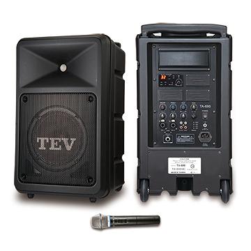 台灣精品 TEV TA680iA-1 160W單頻無線擴音機 可播 藍芽、USB、SD Card *廣播教學 戶外活動